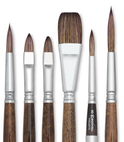 Escoda Versatil Brush - Bright, Size 0, Short Handle