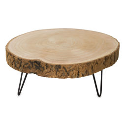 Creative Co-Op Round Wood Pedestal