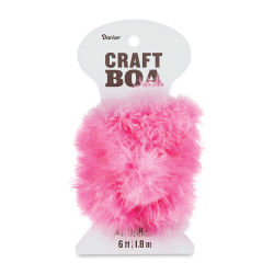 Darice Feather Craft Boa - Candy Pink, 2 yds