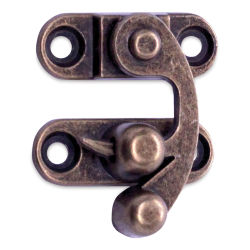 Realeather Swing Clasp - Antique Brass