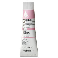 Holbein Acryla Gouache - Light Magenta, 20 ml tube
