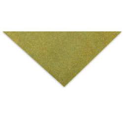 Lokta Paper - Glitter Flake, Olive and Gold, 20'' x 30''