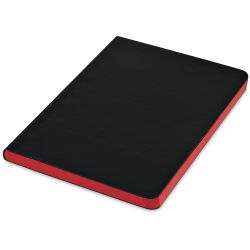 Shizen Faux Leather Journal  - Red, 8'' x 6''