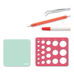 Quilling Tools - Template,Tweezers, etc.