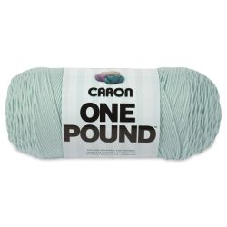 Caron One Pound Acrylic Yarn - 1 lb, 4-Ply, Pale Green