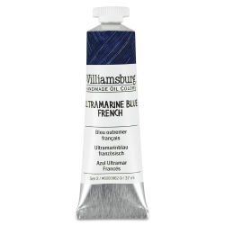Williamsburg Handmade Oil Paint - Ultramarine Blue French, 37 ml tube