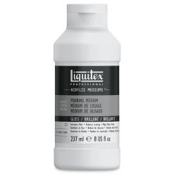 Liquitex Medium - Pouring Medium, Gloss, 8 oz bottle