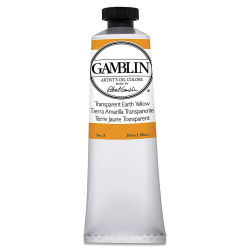 Gamblin Artist's Oil Color - Transparent Earth Yellow, 37 ml tube