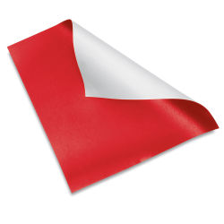 Flexible Magnetic Sheet - 24'', Red
