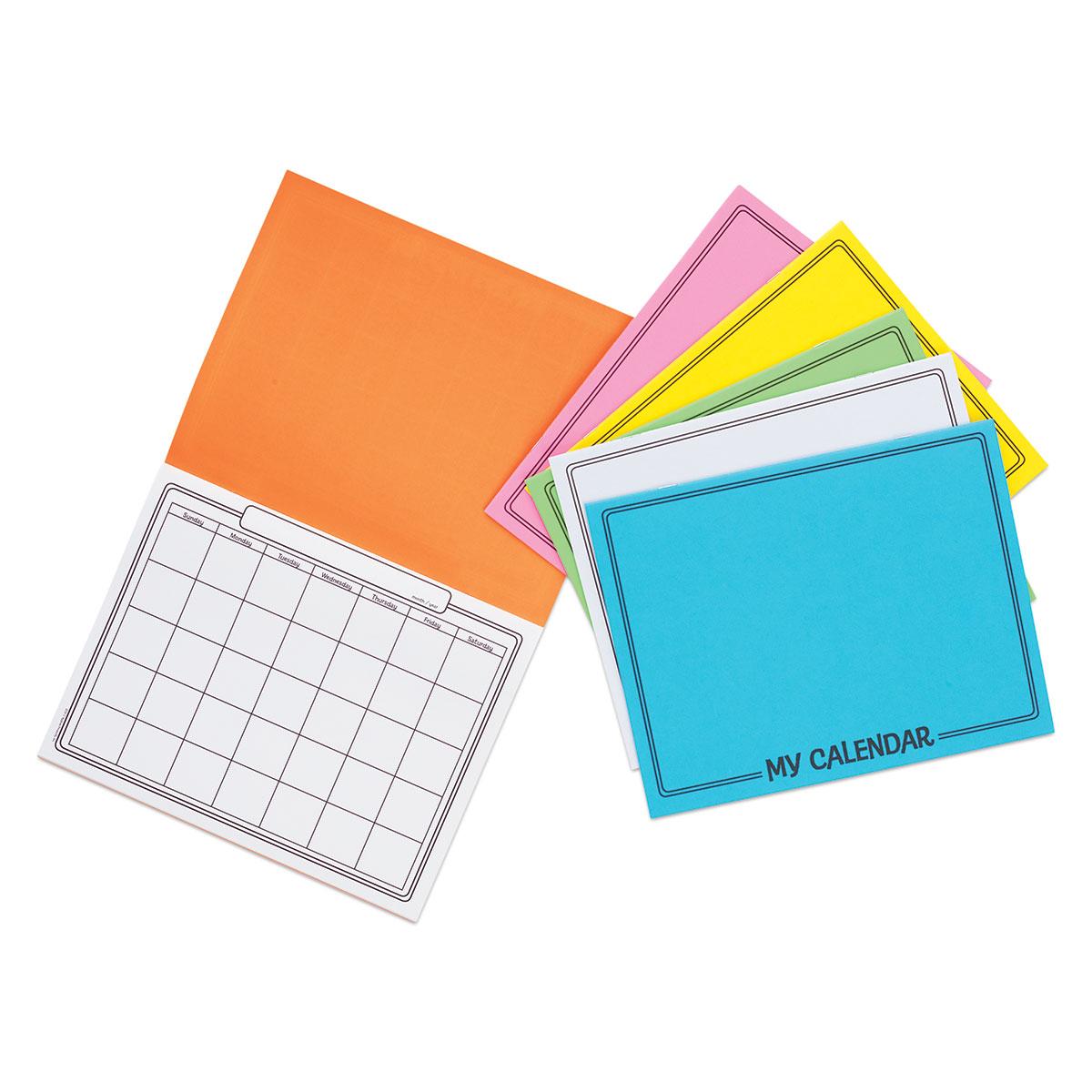 Hygloss My Calendar - Pkg of 6