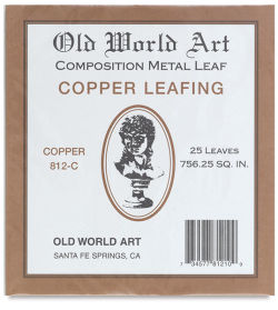 Copper Leaf, 25 Sheets