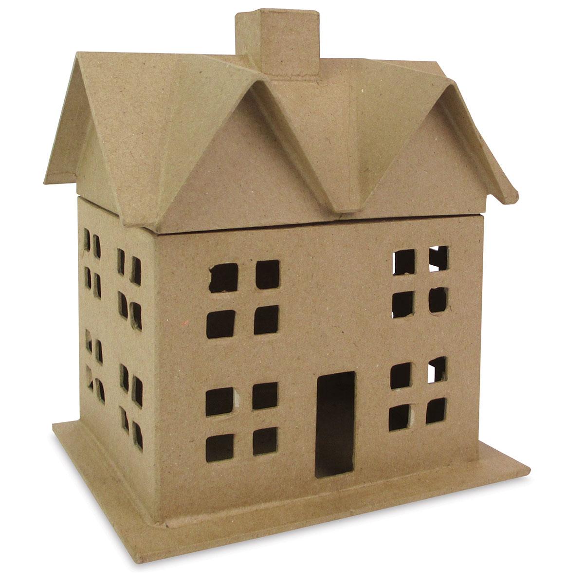 Papier Mâché House - Box House