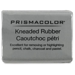 Prismacolor Kneaded Eraser - medium, 1-1/4'' x 3/4'' x 1/4'', Gray