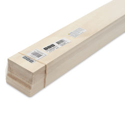 "Bud Nosen Basswood Sheets - 1/4"" x 3"" x 24"", 10 Sheets"