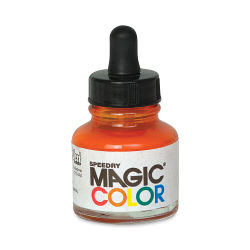 Magic Color Liquid Acrylic Ink - 28 ml, Omega Orange