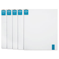 Blick Studio Stretched Cotton Canvas - 48'' x 60'', 1-3/8'' Gallery Profile, Pkg of 5