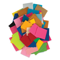 Darice Felt Scrap Pack - 1/2 lb