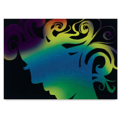 Scratch-Art Artist Trading Cards, Pkg of 52