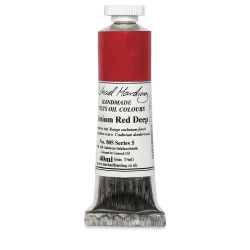 Michael Harding Artists Oil Color - Cadmium Red Deep, 40 ml tube