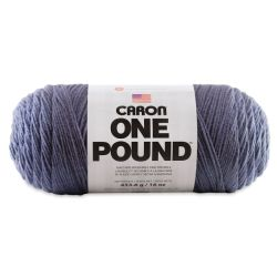 Caron One Pound Acrylic Yarn - 1 lb, 4-Ply, Denim