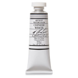 M. Graham Artists' Watercolor - Chinese White, 15 ml tube
