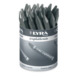 Lyra Graphite Crayon - Classroom Pack, Set of 24