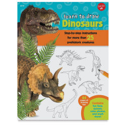 Walter Foster Learn to Draw Dinosaurs - Paperback