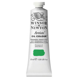 Winsor & Newton Artists' Oil Color - Permanent Green Light, 37 ml tube