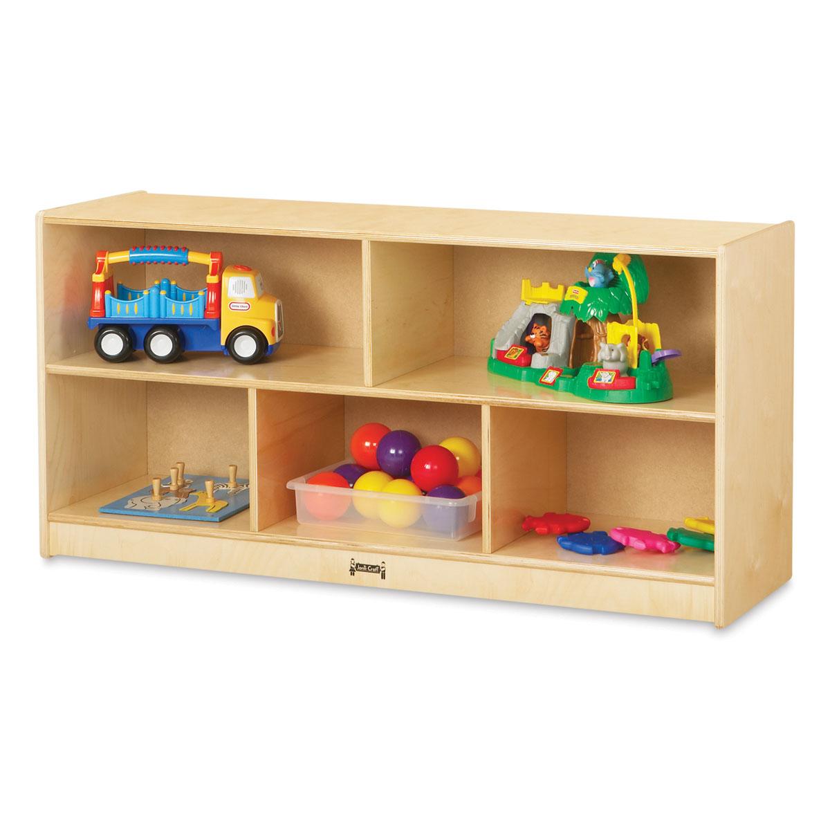 Jonti-Craft Mobile Storage Cabinet - Toddler Single