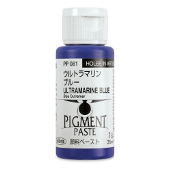 Holbein Tosai Pigment Paste - Ultramarine Blue, 35 ml