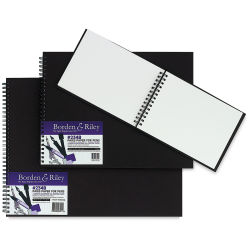 Borden & Riley Paris Paper for Pens Sketchbook - 11'' x 14'', 40 Sheets, 108 lb
