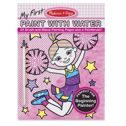 Melissa & Doug My First Paint with Water Activity Book - Pink