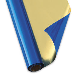 Folia Alu Foil Roll - Blue/Gold, 19-1/2'' x 31''