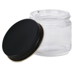 Double E Distributing Small Glass Jars for Mixing  - 2.0 oz