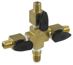 Iwata Airbrush Accessory - 3-Way Valve Assembly