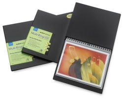 Itoya Art Profolio Multi-Ring Mini Refillable Binders