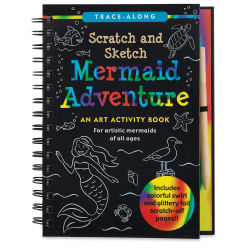 Scratch and Sketch Art Activity Book - Mermaid Adventure