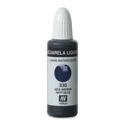 Vallejo Liquid Watercolor - Navy Blue, 32 ml