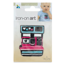Momenta Iron-On Art - Four Color Polaroid