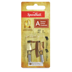 Speedball Lettering Nibs Sets - 0 and 1, A, Square