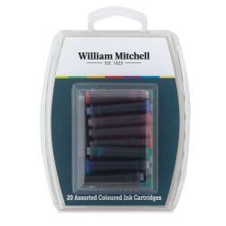 William Mitchell Ink Cartridges - Assorted Colors, Set of 20