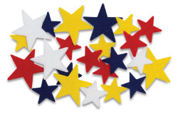 Shapes: Stars, 68 Pcs