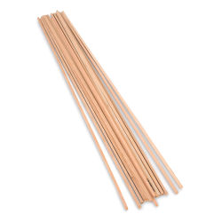 Midwest Products Cherry Wood Strips, Pkg of 15, 3/16'' x 3/16'' x 24''