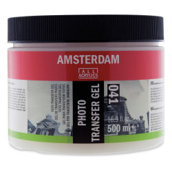 Amsterdam Acrylic Photo Transfer Gel - 500 ml, Jar