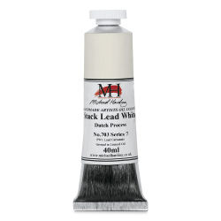 Michael Harding Artists Oil Color - Stack Lead White, 40 ml tube