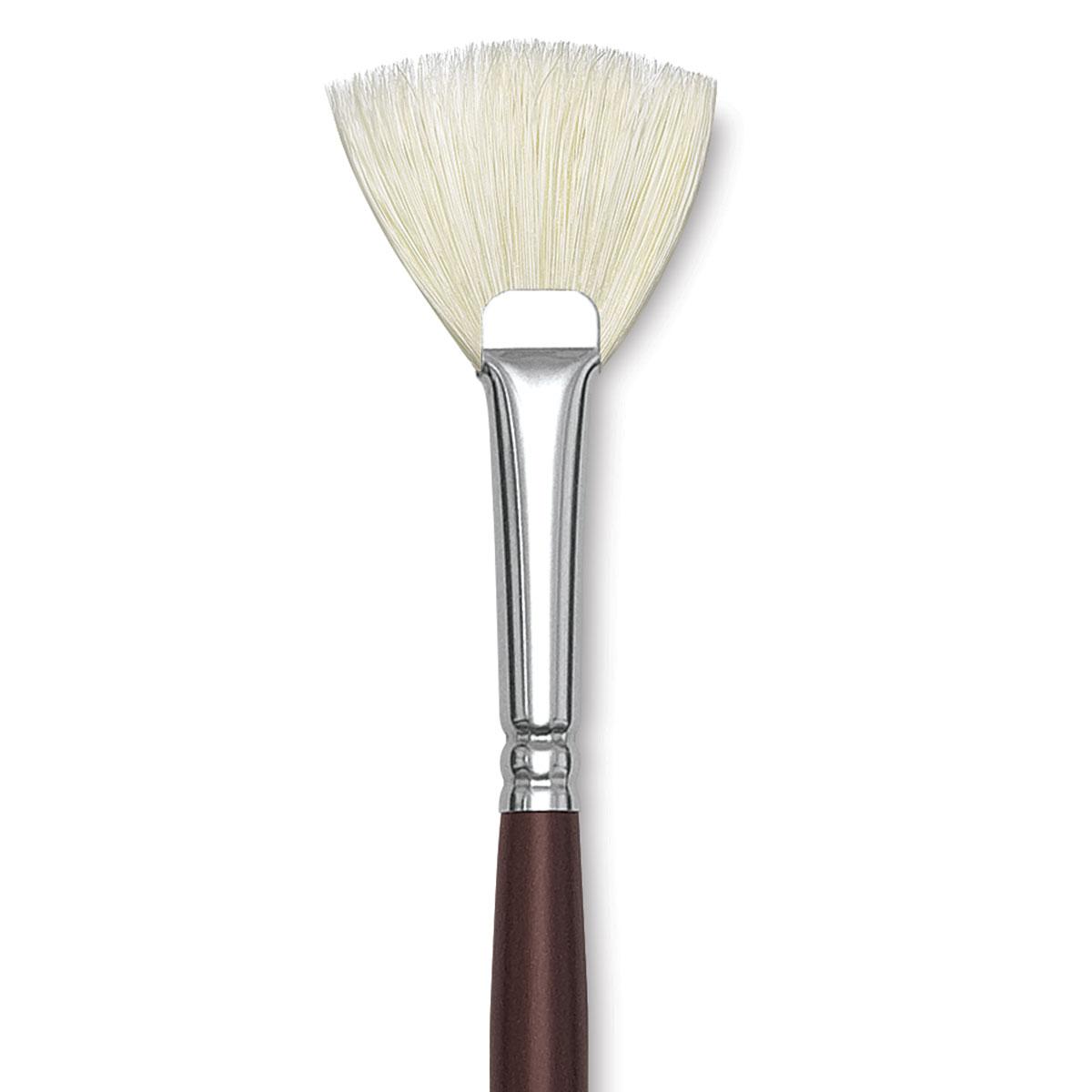 Silver Brush 1100-4 Silverstone Excellent Long Handle Hog Bristle Brush Size 4 Round