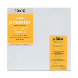 Blick Premier Gallery Profile Cotton Canvas - 10'' x 10''