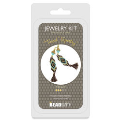 Beadsmith Jewelry Kit Earrings - Tassel Tapestry