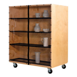 Diversified Woodcrafts Sculpture Ware Cart (Pottery not included)