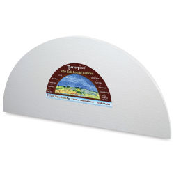 Masterpiece Tahoe Cotton Canvas Shape - Half Round, 6'' x 12''